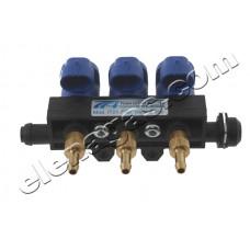 Инжекторна рейка 3 цил. Tomasetto IT01 Plus