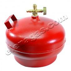 Туристическа газова бутилка 5л Колос