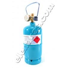 Туристическа газова бутилка 500гр/1.2л Vitkovice Milmet