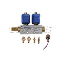 Инжекторна рейка Torelli/Mimgas/Feroni 2цил.
