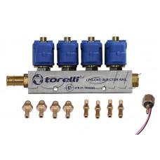 Инжекторна рейка Torelli/Mimgas/Feroni 4цил.