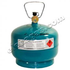 Туристическа газова бутилка 2кг/4.8л Vitkovice Milmet