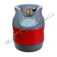 Композитна газова бутилка 12л. с Jumbo вентил