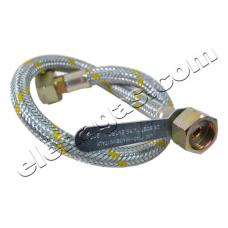 Гъвкава връзка с метална оплетка за бутилкови инсталации