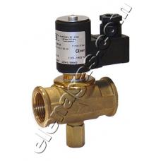 Електромагнитен клапан нормално затворен 500mbar с ръчен reset