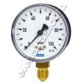 Манометър радиален за газ ф63 WIKA 0-600 mbar