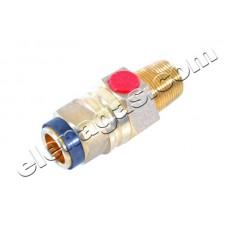 Газов вентил тип Jumbo с предпазен клапан за битова бутилка