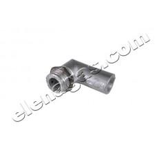 Щуцер колено за смесител ф12х1 алуминиев