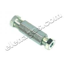 Съединител-снадка за метална тръба метан- комплект