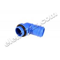 Коляно изход газ за изпарител Mimgas/Feroni/Torelli-пластмаса