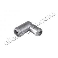 Коляно за вода 16-19 алуминиево