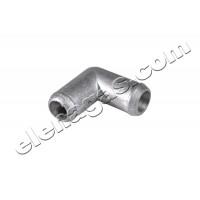 Коляно за вода/газ 12-12 алуминиево