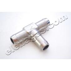 Тройник за вода 16-16-16 алуминиев