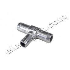 Тройник за вода 16-19-19 алуминиев