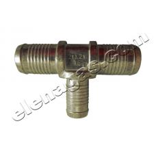 Тройник за вода 16-21-21 алуминиев