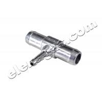 Тройник за вода 8-19-19 алуминиев